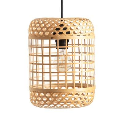 Suspension bambou naturel, H28 cm, CORDO Suspension bambou naturel, H28 cm, CORDO LA REDOUTE INTERIEURS