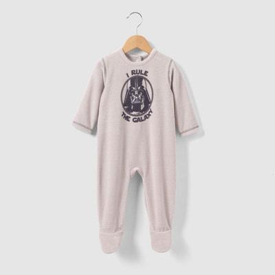 "Pyjama velours ""Star Wars"" 0 mois - 3 ans Pyjama velours ""Star Wars"" 0 mois - 3 ans STAR WARS"