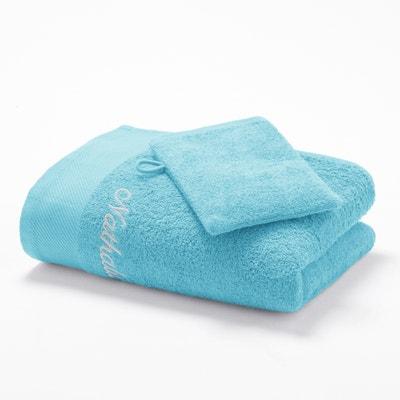 Toalha + luva de banho 500 g/m² (lot de 2) Toalha + luva de banho 500 g/m² (lot de 2) La Redoute Interieurs