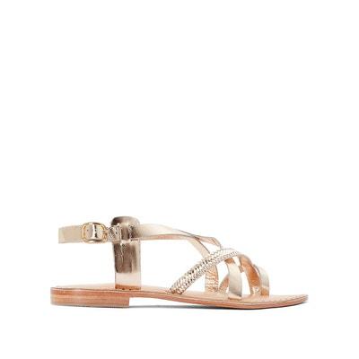 Sandales en cuir Telio Jaune JonakJonak u0UgSP