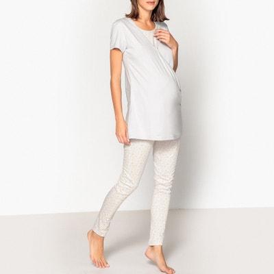 5d0cb83f123 Pijama de embarazo y lactancia. LA REDOUTE MATERNITE