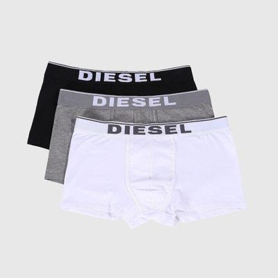 Boxers em algodão stretch CLASSIQUES (lote de 3) Boxers em algodão stretch CLASSIQUES (lote de 3) DIESEL