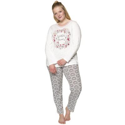 Long-Sleeved 2-Piece Pyjamas with Winter Motif ULLA POPKEN