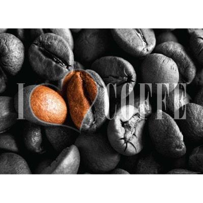Coffee, photo murale, 160 x 115 cm, 1 part WALLTASTIC