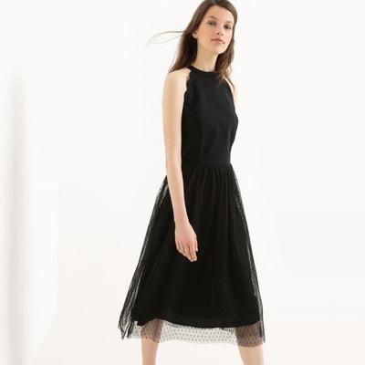 Платье расклешенное средней длины без рукавов Платье расклешенное средней длины без рукавов MADEMOISELLE R