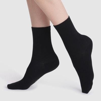 Pack of 2 Pairs of Mid-Calf Socks DIM