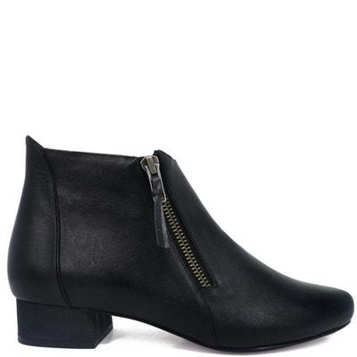 Chaussures femme en cuir lori boots  Pring Paris  La Redoute
