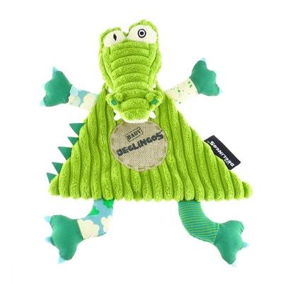 Doudou Baby Aligtatos l'aligator Doudou Baby Aligtatos l'aligator LES DEGLINGOS