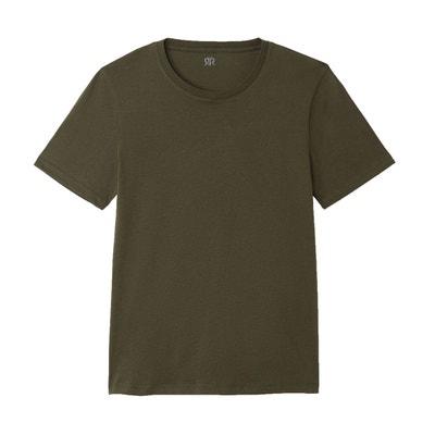 d52b686195408 Tee shirt THEO col rond en coton Tee shirt THEO col rond en coton LA REDOUTE