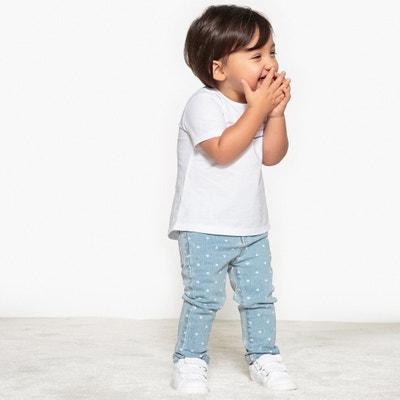 Jeans slim, impressão coração, 1 mês - 3 anos Jeans slim, impressão coração, 1 mês - 3 anos La Redoute Collections