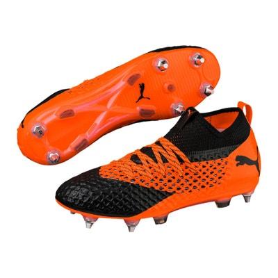 904583b5a444e Chaussures football Puma Future 2.2 Netfit MX SG Orange Noir PUMA