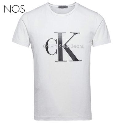 Camiseta con cuello redondo y manga corta Camiseta con cuello redondo y manga corta CALVIN KLEIN JEANS