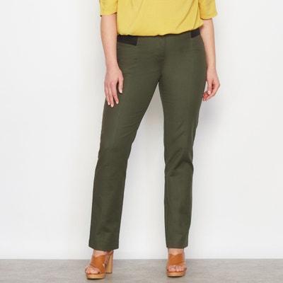 Ingenious Straight Cut High Waist Trousers CASTALUNA