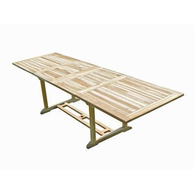 Grande table de jardin 12 personnes en solde   La Redoute