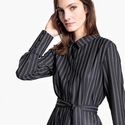 Tie Waist Shirt Dress La Redoute Collections