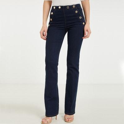 Jeans bootcut com ponte Jeans bootcut com ponte MORGAN