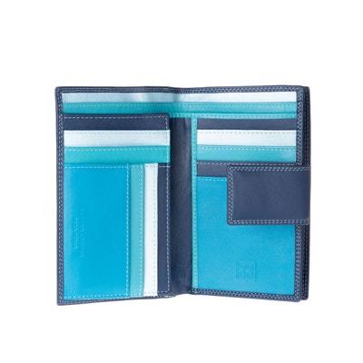Portefeuille Pour Femme Spacieux En Cuir Vritable Nombreux Compartiments Avec Porte Monnaie Zipp Et