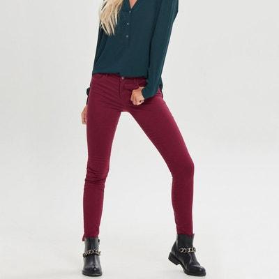 Pantalon skinny taille haute longueur 34 Pantalon skinny taille haute longueur 34 ONLY