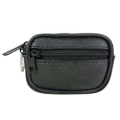 df225758a168f Mini   Petite sacoche ceinture compacte à poches zippées et porte clé Mini    Petite sacoche