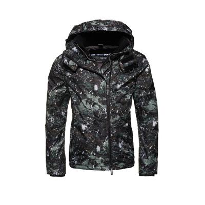 Veste à capuche imprimée Pop Zip Arctic SD-Windcheater SUPERDRY d14499bdab3a