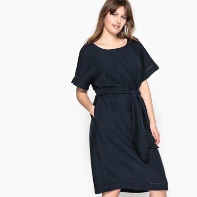 Kurzes Kleid, gerade Schnittform, kurze Ärmel CASTALUNA