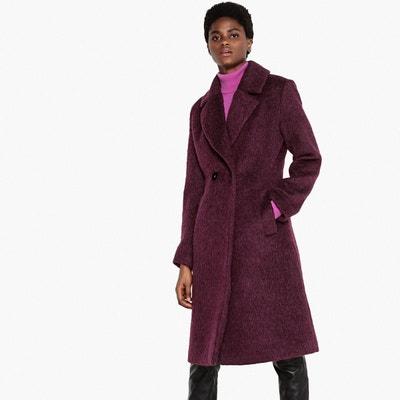 Manteau mi-long en laine mélangée Manteau mi-long en laine mélangée LA REDOUTE COLLECTIONS