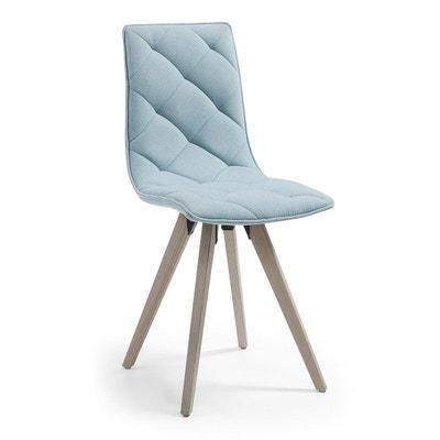Kave Home Chaise Kevya Patchwork Bleu