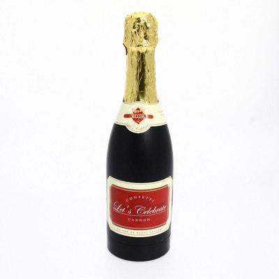 Canon à confettis Bouteille de champagne Canon à confettis Bouteille de champagne ATMOSPHERA
