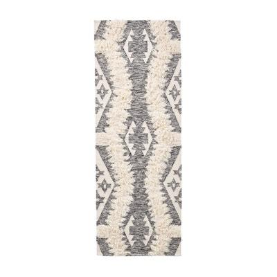 Alfombra de pasillo tejida a mano de lana y algodón, KOWALSKA Alfombra de pasillo tejida a mano de lana y algodón, KOWALSKA La Redoute Interieurs