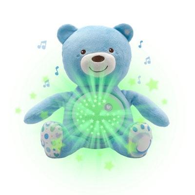 Ourson projecteur Baby Bear, bleu CHICCO