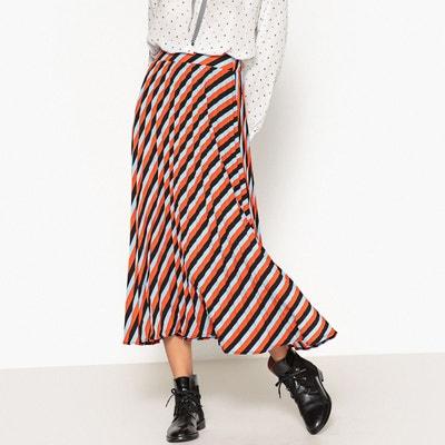 Jupe longue plissée à rayures SISTER JANE