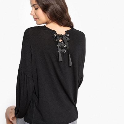 Tee-shirt avec œillets dans le dos Tee-shirt avec œillets dans le dos LA REDOUTE COLLECTIONS