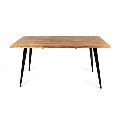 Bureau style industriel en metal et bois | La Redoute