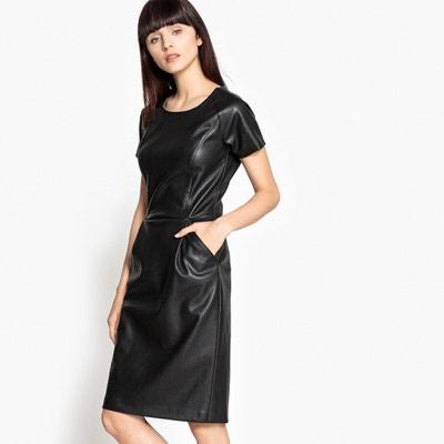 Kleid aus Lederimitat, Reissverschluss hinten La Redoute Collections