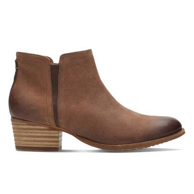 Boots cuir Maypearl Ramie CLARKS