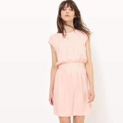 Plain Short Dress with Short Sleeves Plain Short Dress with Short Sleeves ONLY