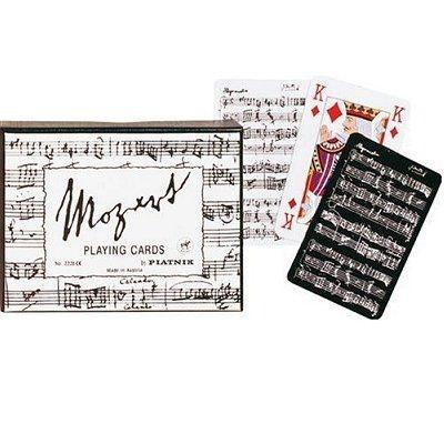 Jeu de cartes : Coffret de 2 x 55 cartes : Mozart PIATNIK
