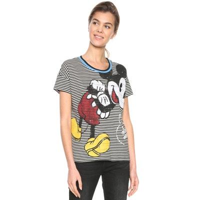 T-Shirt mit rundem Ausschnitt T-Shirt mit rundem Ausschnitt DESIGUAL