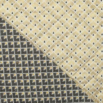 Tissu piqué de coton matelassé écailles , Oeko-Tex® CAREFIL