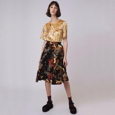 Floral Print Midi Skirt Floral Print Midi Skirt COMPANIA FANTASTICA