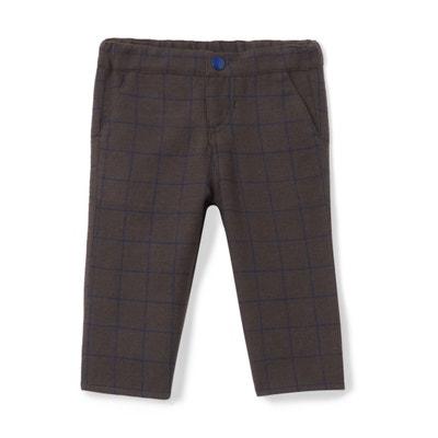 Pantalón chino de franela 1 mes - 3 años Pantalón chino de franela 1 mes - 3 años La Redoute Collections
