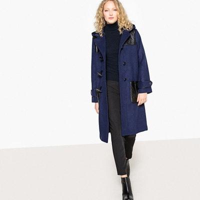 Duffle coat en mélange laine, détails quilté La Redoute Collections