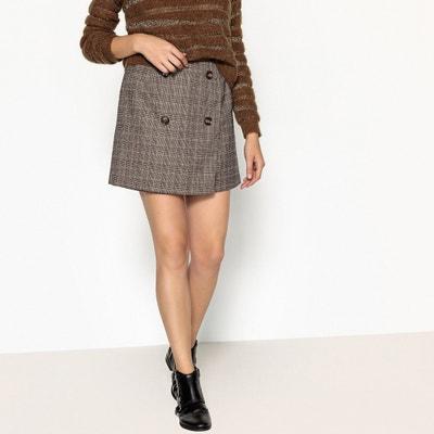 Short Checked Pencil Skirt Short Checked Pencil Skirt SEE U SOON