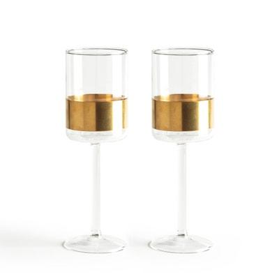 2 bicchieri da vino rosso Cuivre Serax AM.PM.