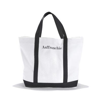 Medium Cotton Shopper with 'Aaffranchie' Slogan Print Medium Cotton Shopper with 'Aaffranchie' Slogan Print VANESSA BRUNO