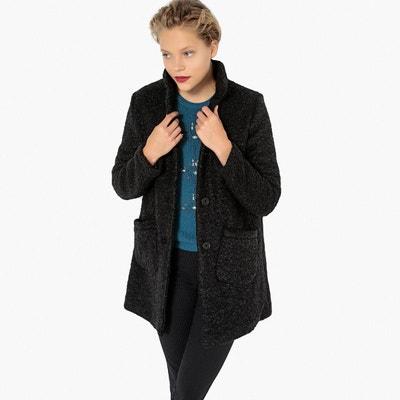 Manteau mi long en mélange laine Manteau mi long en mélange laine LA REDOUTE  COLLECTIONS da83643c474e