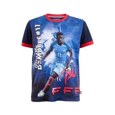 T-shirt FFF Dembélé Sublime Bleu Junior T-shirt FFF Dembélé Sublime Bleu Junior MADE IN SPORT