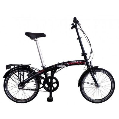 Vélo pliant CALAIS 20' Nexus 3 vitesses - noir DESCHEEMAEKER