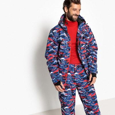Veste de snowboard imprimée col montant à capuche Veste de snowboard  imprimée col montant à capuche. LA REDOUTE COLLECTIONS 1908248d5c66