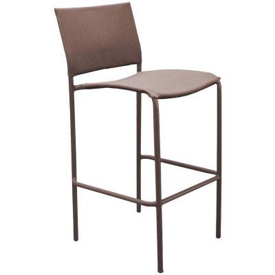 chaise de bar marron la redoute. Black Bedroom Furniture Sets. Home Design Ideas